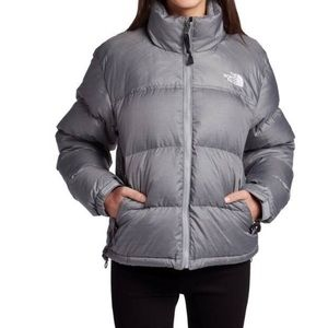 • The North Face puffer •